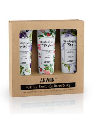 ANWEN Róża Emolientowa odżywka do włosów 200ml