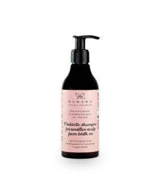 Mawawo Prebiotyczny szampon do wrażliwej skóry głowy