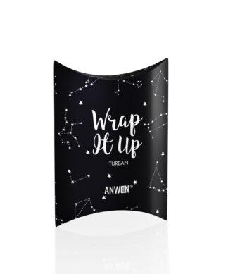 ANWEN TURBAN Wrap it Up czarny