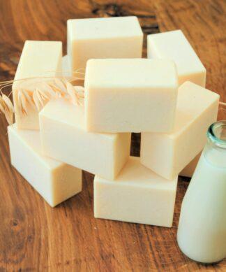 Kostka Mydła Mydło z mlekiem owsianym